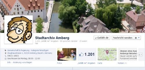 Stadtarchiv Amberg Facebook