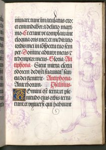 Gebetbuch Kaiser Maximilians I., Albrecht Dürer: Einwohner von Sumatra