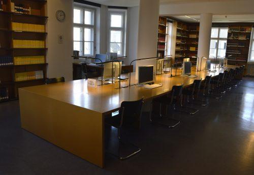 Lesesaal Stadtarchiv München